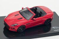 Jaguar F-Type V8-S Salsa Red, official Jaguar dealer model, IXO 1:43 scale