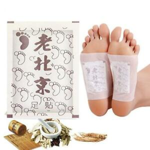 Detox Foot Pads Organic Herbal Cleansing Patches Old Beijing Foot Patch  2022