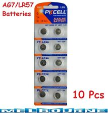 10Pcs AG7 LR57 LR926 G7 Button Cell Coin Alkaline Battery 1.55V Watch Toy PKCELL