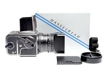 Hasselblad 501CM + Carl Zeiss Planar 80 mm f/2,8 CB + Magazin A12