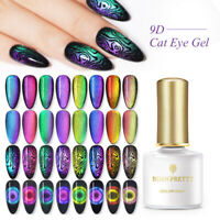 BORN PRETTY 6ml 9D Cat Eye Magnetic UV Gellack Soak Off Nail Art Nagel Gel lack