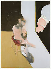 Study for 'Portrait' Francis Bacon ready mounted print in 11 x 14 inch mount