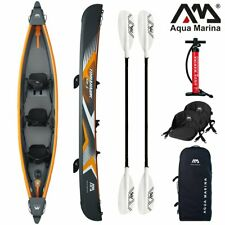AQUA MARINA Tomahawk Kayak 3 Personnes Gonflable Kanau Kayak Tours 478cm