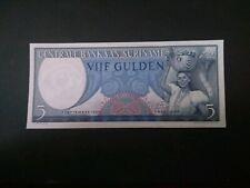 Suriname 5 Gulden 1963 UNC