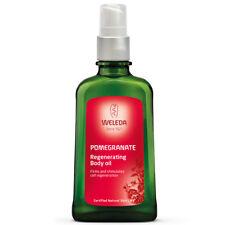 Weleda Pomegranate Regenerating Body Oil 100ml firms stimulate cell regeneration