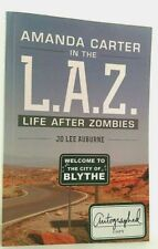 AMANDA CARTER IN THE LAZ LIFE AFTER ZOMBIES Jo Lee Auburne AUTHOR SIGNED Mint