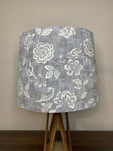 Iliv Bird Garden Gray and White Handmade Lampshade