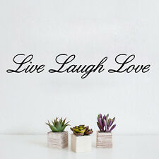Quote Wall Sticker LIVE LAUGH LOVE Home Decor Art Vinyl Decal For Bedroom