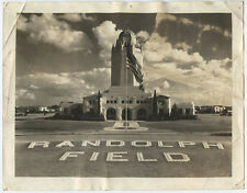 Original WW2 Photograph US Army Randolph Field 8x10 Adminstrative Building