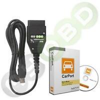 CarPort Software Vollversion + UDS CAN KKL Diagnose Für VW Audi Seat Skoda