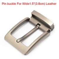"Top quality alloy men's Belt buckle pin buckle For Wide 1.5""(3.8cm) Leather"