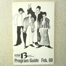 Beatles Yellow Submarine 1969 February KFME Program Guide Local Fargo Moorhead