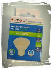 FARETTO LED GU10 5w - SMD GU10 6400°k 110° - 320lm - Luce Fredda