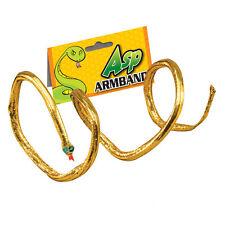 # égyptien serpent Brassard Cléopâtre ANCIEN reine déguisement accessoire