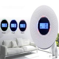 2in1 Rauch & Kohlenmonoxidmelder LCD-Display CO Melder Gasmelder Detektor Sensor
