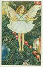 A1539cgt Cute Cicley Barker Flower Fairies Christmas Tree Fairy postcard