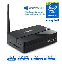 Sumvision Cyclone MINI PC 2 Windows 10 4K 32GB, 4GB edizione, WIFI & Bluetooth