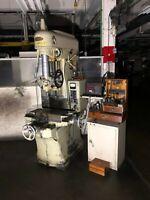 Moore Special Tool Model 2 Jig Borer Boring Press Machine, Bridgeport, 440V