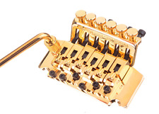 Bridge FLOYD ROSE Licence - gold - barre TREMOLO -