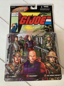 GI Joe Comic Pack # 101 GORKY DRAGONSKY SGT MISHA ZUBENKOV  MOC!
