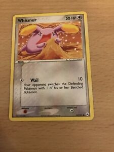 Pokemon Card Whismur 82/101 Used Inc Free Card Deal