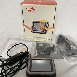 Mio DigiWalker C220 Portable Car Navigation System with GPS Lightly Used