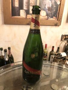 Empty Mumm Champagne Bottle Ideal For Display Or Crafts