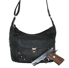 Women's CCW Handbag Purse Gun Bag Lady's Black Concealed Carry Cwp Holster NEW