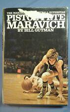 PISTOL PETE MARAVICH 1972 BILL GUTMAN LSU TIGERS BASKETBALL ATLANTA HAWKS NBA