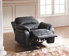 Leder Fernsehsofa Relaxsessel Fernseh-Sessel Schlaffunktion 5129-1-S sofort