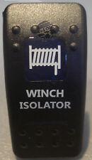 WINCH ISOLATOR BLUE ROCKER SWITCH ARB GQ 80 HILUX JEEP TOYOTA NISSAN WARN GU 4X4