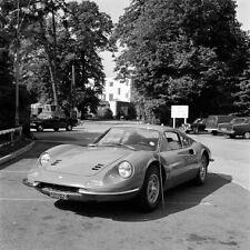 THE PERSUADERS TONY CURTIS FERRARI DINO CLASSIC CAR ON SET PHOTO 12x12