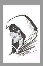 Signed Neal Adams JLA Justice Society Original DC Comic Art Sketch ~ The Spectre