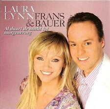 LAURA LYNN & FRANS BAUER - al duurt de nacht CD SINGLE 2TR Cardsleeve 2008