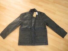 Just Jeans Men's Premium Black Coated Lined Jacket  Size: S