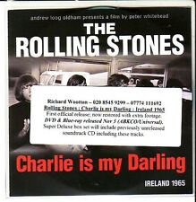 "ROLLING STONES ""Charlie is my darling"" UK  6 Track Promo CD RARE"