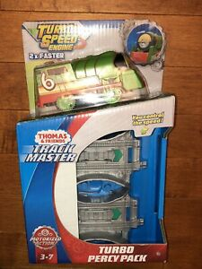 2018 Fisher-Price Thomas and Friends Trackmaster Turbo Percy Pack Train New