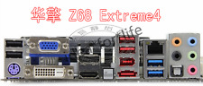 NEW I/O IO SHIELD BACKPLATE for ASRock Z68 Extreme4 #T1037 YS