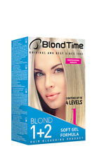 BLOND TIME BLOND1 / 1+2 Hair Bleaching Product Lightens Up To 4 Levels 120 ml
