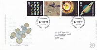 3 AUGUST 1999 SCIENTISTS TALE ROYAL MAIL FIRST DAY COVER BUREAU SHS (a)