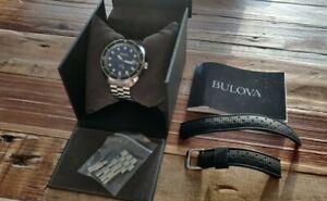 Bulova OCEANOGRAPHER 96B344. New 41mm Edition.