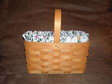 Longaberger 1999 Candle Basket Set - White Vine