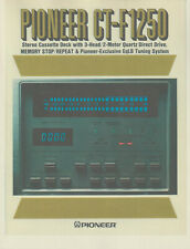 Pioneer - CT-F1250 Cassette Deck - Sales Brochure (Repro) -