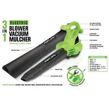 3-In-1 Electric Leaf Blower Vacuum Mulcher Lightweight Shredder Combo 2 Speed