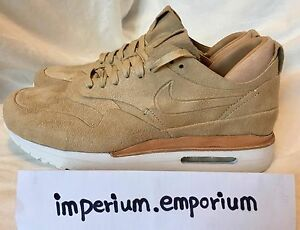 NikeLab Women's Air Max 1 Royal Beige Trainers Size UK 8, US 10.5