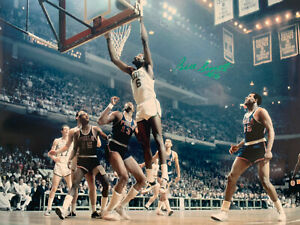 Bill Russell Signed 16x20 Autographed Celtics Basketball Photo VS 76ers Jsa coa