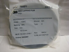 3M 468X  Lapping Film 5 Inch PSA Discs SEALED 50  pcs 15 Micron  127mm  # 76661