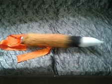 "Fox Tail 24"" costume TAIL Fancy dress Cosplay furry Kawaii animal tail faux fur"
