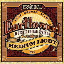 Ernie Ball Earthwood Medium Light Acoustic Strings