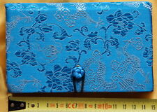 Cahier chinois-Journal Intime-Satin-Chinese Notebook-quaderno cinese-bleu-s